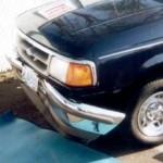 Ford Ranger front bumper repair